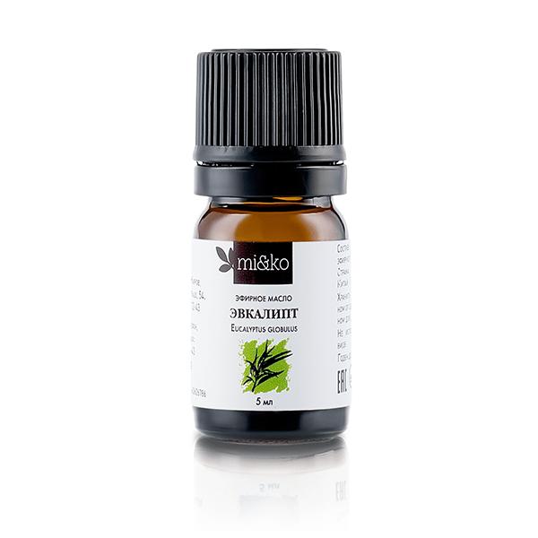 Эфирное масло Эвкалипт шаровидный 5 мл, органик